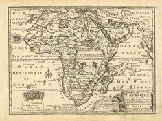 De Fer Nicolas edit. Africa - 1705