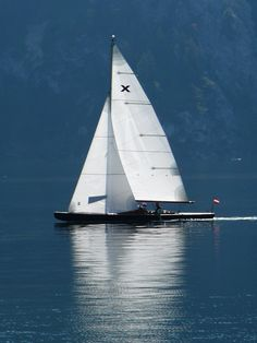 Traunkirchen Yacht Sailing Ships, Austria, Boat, Dinghy, Boats, Sailboat, Tall Ships