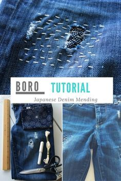Boro Tutorial: Learn to mend your jeans and other projects with this decorative Japanese technique.
