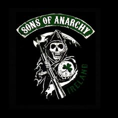 Camiseta Sons of Anarchy. Irlanda