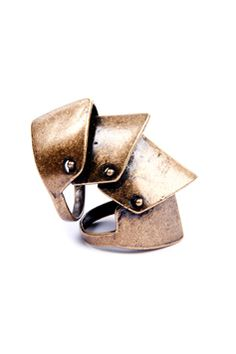 armour ring. Because your knuckles are vulnerable?