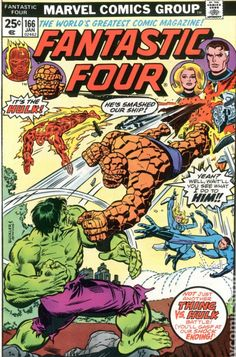 Fantastic Four, Vol. 1 # 166 - Rich Buckler & Dan Adkins