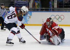 2014 Winter Olympics Hockey USA vs. Canada | ... hockey game at the Sochi 2014 Sochi Winter Olympics, February 12, 2014