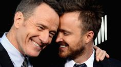 "Aaron Paul and Bryan Cranston: read my blog ""The Celebrity TAG!"" on imfeelinggood.nl"