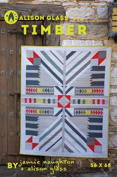 Alison Glass - Timber I Quilt Pattern