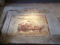 Fresco in the Bawdy House @ Pompei