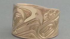 Northwest Coast Indian Gold Rings #northwestcoastindianart #americanindianart #firstnationsart #davidneel #nativeart