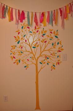 Home tree stencil Family Tree Mural, Tree Stencil, Cutting Edge Stencils, Mural Ideas, Stencil Patterns, Cute Diys, Murals, Vinyl Decals, Room Ideas