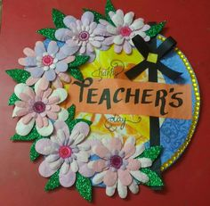 The 32 best teachers day special cards images on pinterest a very happy teacher day card by akshita chhabra 9th grade click on the visit button to see more of her creativity on his own personal gallery on m4hsunfo