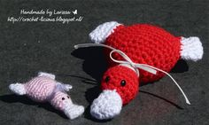Crochet-licious: Mini eendjes van Mrs Emonessy