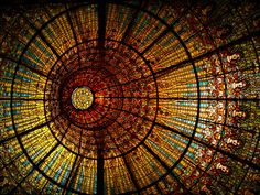 Ceiling of Palau de la Musica Catalana, Barcelona Palau Musica Catalana, Old Fashioned Love, Merced River, Apostles Creed, Roof Ceiling, Mother Bears, Mirror Lake, Old Wall, New Testament