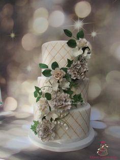 Weddingcake by Wilma's Droomtaarten