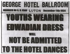 Luton 1954 Poster