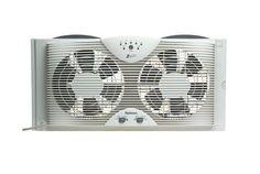 The Honeywell Hw 305 Reversible Twin Window Fan Is