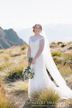 Queenstown Wedding, Bridal Makeup, Mountain Wedding, Wedding Photography by Hair by Makeup by Kirsty Lohmann, Planner - Boutique Weddings New Zealand Wedding New Zealand, Bridal Makeup, Mountain, Wedding Photography, Weddings, Boutique, Wedding Dresses, Hair, Fashion