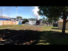Train arriving and leaving Napier New Zealand, Train, Youtube, Strollers, Youtubers, Youtube Movies