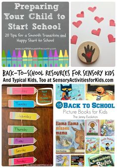 Back to School Resources for Sensory Kids (And Typical Kids, Too) + Kids Co-Op Link Party at SensoryActivitiesforKids.com