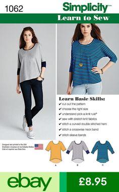 8f2f01f1ed2fd5 Simplicity  eBaySewing Patterns Crafts Simplicity Sewing Patterns