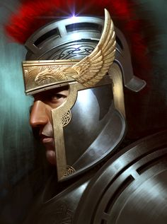 Soldier by ~Rennee on deviantART Love this helmet!! I want an armor... So bad!!