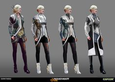 ArtStation - Female High Paris - REMEMBER ME, Gary jamroz-palma