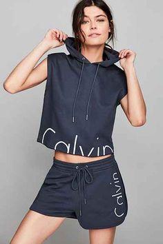 Calvin Klein For UO Modern Capsule Sleeveless Hoodie Sweatshirt - Urban Outfitters