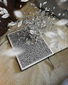 Visoth Kakvei ilustraciones ilusiones opticas 3