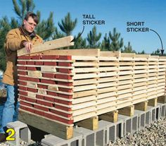 Air-Drying Lumber - Popular Woodworking Magazine