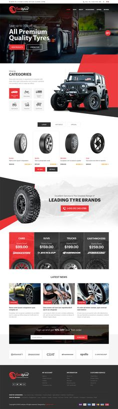 Cool Tyres: Exclusive automotive (Car & Bike) wheels & tires store cs-cart website template from Bugtreat Technologies who customize theme based on your business requirements. Design Responsive, Ecommerce Web Design, Web Ui Design, Ecommerce Websites, Ecommerce Shop, Template Web, Website Template, Templates, Web Design Mobile