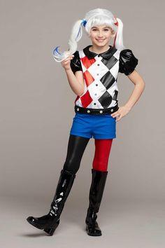 Harley Quinn Costume for Girls | Chasing Fireflies