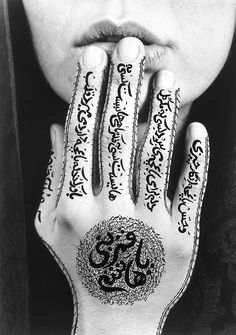 one of her most famous art works. TITLE: From the Women of Allah Series ARTIST: Shirin Neshat (Iranian, Shirin Neshat, Walker Evans, Creative Photography, Art Photography, Conceptual Photography, Amazing Photography, Photocollage, Gelatin Silver Print, Famous Art