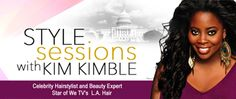 "Kim Kimble, Celebrity Hairstylist and Beauty Expert, Star of We TV's ""L.A. Hair"", brought her Style Sessions to Ubiquitous.  Sharing trade secrets and pearls of wisdom."