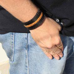 leather-bracelets-black-cuff-mens-weave-gold-man-600x600.jpg (600×600)