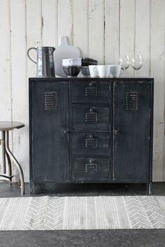 Light Industrial Locker Style Cabinet | Rockett St George