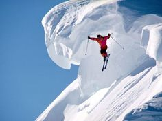 Sports: Extrem winter skiing #snow