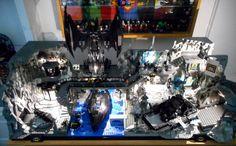 Batcaverna moc Lego by Giulio Manuelli