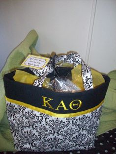 Cute but with DPhiE! And Teal of course.. Family Pattern