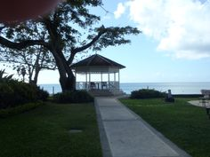 Gazebo Setting at Sandals La Toc in St. Lucia. One of my favorite places on Earth!