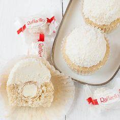 Raffaello-Cupcakes (Kokos-Mandel-Cupcakes)