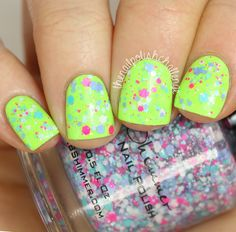 The Nail Polish Challenge: KBShimmer Summer 2015 Collection Part 1: Neon Cremes and Glitters