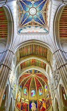 Este es la cathedral de Santa Maria.