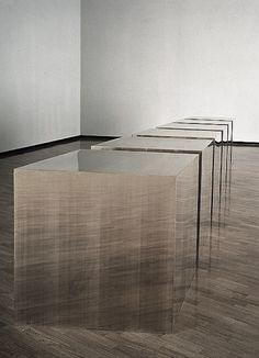 donald judd.      ♥ by #GalerieW 2014