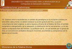 Misioneros de la Palabra Divina: CAMINANDO HACIA EL DIRECTORIO CATEQUÍSTICO ARGENTI...