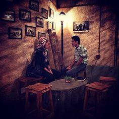 Young couple in Teheran