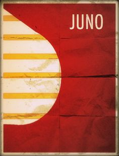Juno - Minimalist Poster by ~theckboom on deviantART Best Movie Posters, Minimal Movie Posters, Minimal Poster, Film Posters, Juno Film, Simple Artwork, Superhero Poster, Movies And Series, Paint Photography
