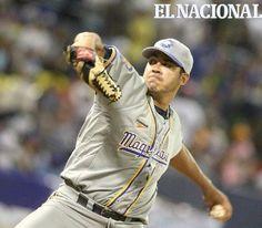 Carlos Hernández, lanzador  del equipo Navegantes del Magallanes. Caracas, 30-10-2009 ( HENRY DELGADO / EL NACIONAL)