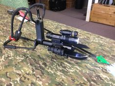 I never would have thought that someone could take a slingshot and take it way over the deep end. Wow we do live in an interesting world Zombie Survival Gear, Survival Weapons, Tactical Survival, Survival Tools, Camping Survival, Outdoor Survival, Survival Knife, Outdoor Camping, Tactical Sling