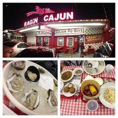 The original Ragin Cajun in Houston, Texas