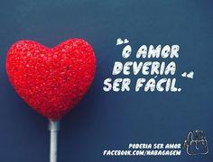 Ah, o amor... <3 #NaBagagem #PoderiaSerAmor