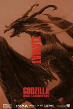 Tiamat in Godzilla: King of the Monsters All Godzilla Monsters, Godzilla Comics, Godzilla 2, Kaiju Size Chart, Godzilla Wallpaper, Godzilla Birthday, Monster Names, Legendary Monsters, Beast Wallpaper