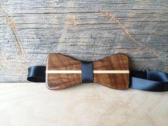 Custom wooden bow tie